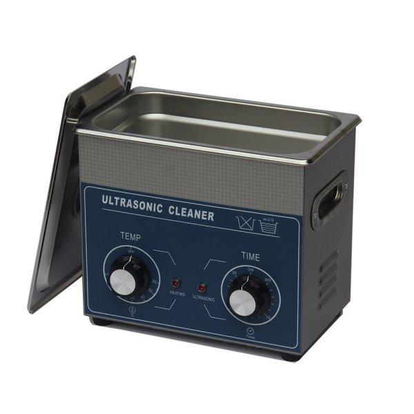 画像1: 【ダイヤル式 3L/80kHz 超音波洗浄機】 タイマー/ ヒーター/小型洗浄器クリーナー 業務用 (1)