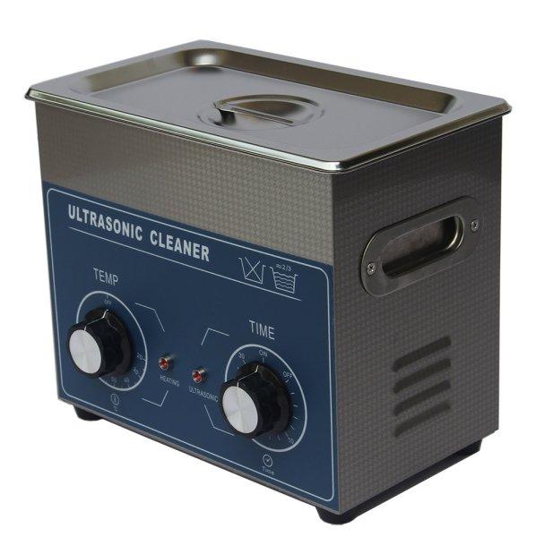画像1: 【ダイヤル式 3L/40kHz 超音波洗浄機】 タイマー/ ヒーター/小型洗浄器クリーナー 業務用 (1)
