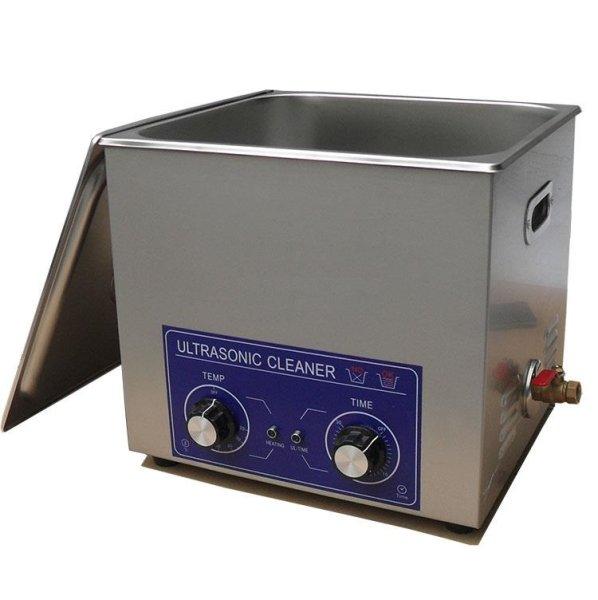 画像1: 【ダイヤル式 19L/28kHz 超音波洗浄機】 タイマー/ ヒーター/中型洗浄器クリーナー 業務用 (1)