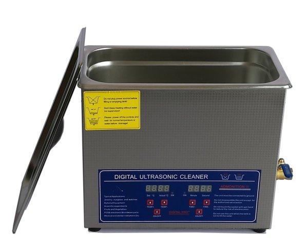 画像1: 【デジタル式 6L/40kHz  超音波洗浄機】 タイマー/ヒーター/小型洗浄器クリーナー 業務用 (1)