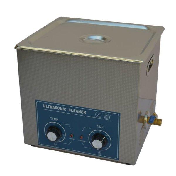 画像1: 【ダイヤル式 14L/40kHz 超音波洗浄機】 タイマー/ ヒーター/中型洗浄器クリーナー 業務用 (1)