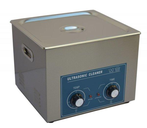 画像1: 【ダイヤル式 15L/80kHz 超音波洗浄機】 タイマー/ ヒーター/中型洗浄器クリーナー 業務用 (1)
