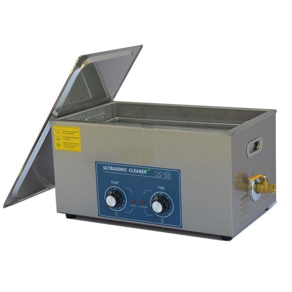 画像1: 【ダイヤル式 22L/80kHz 超音波洗浄機】 タイマー/ ヒーター/中型洗浄器クリーナー 業務用 (1)