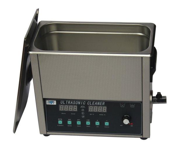 画像1: 【スマートデジタル式 6L/40kHz 超音波洗浄機】 タイマー/ヒーター/ パワー調節/DEGAS/スイープ機能/小型洗浄器クリーナー 業務用 (1)