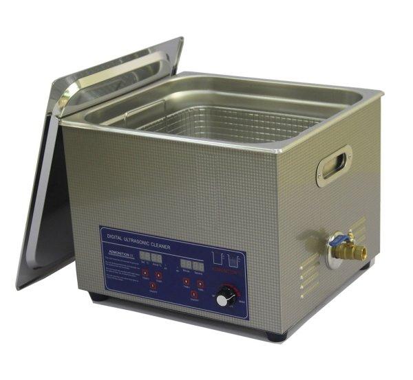 画像1: 【デジタル式 15L/80kHz 超音波洗浄機】 タイマー/ヒーター/ パワー調節/中型洗浄器クリーナー 業務用 (1)