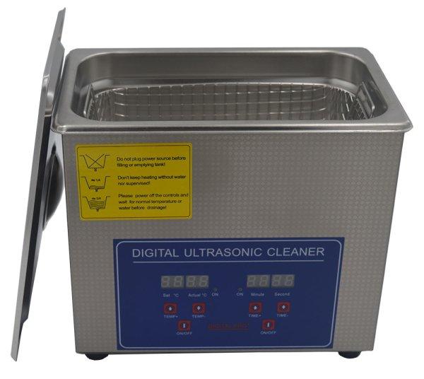 画像1: 【デジタル式 3L/80kHz 超音波洗浄機】 タイマー/ヒーター/小型洗浄器クリーナー 業務用 (1)