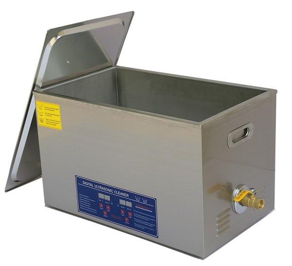 画像1: 【デジタル式 30L/28kHz 超音波洗浄機】 タイマー/ヒーター/大型洗浄器クリーナー 業務用 (1)