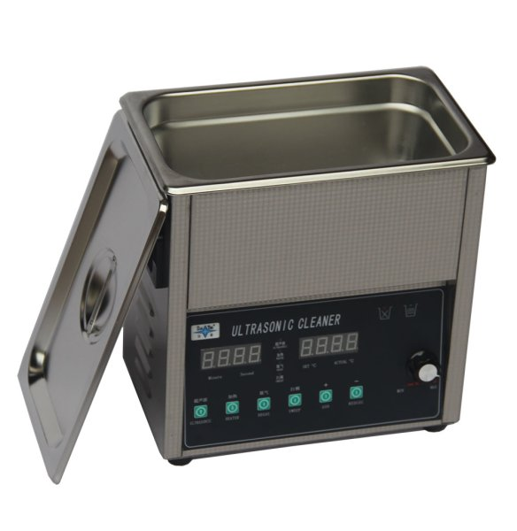 画像1: 【スマートデジタル式 3L/40kHz 超音波洗浄機】 タイマー/ヒーター/ パワー調節/DEGAS/スイープ機能/小型洗浄器クリーナー 業務用 (1)