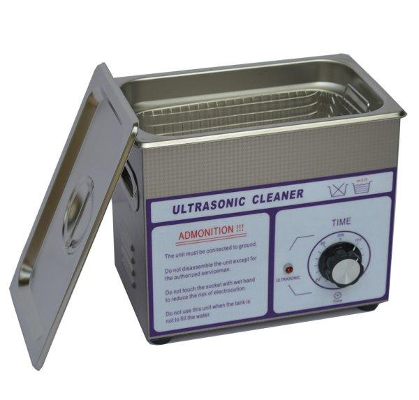画像1: 【ダイヤル式 3L/40kHz 超音波洗浄機】 タイマー/小型洗浄器クリーナー 業務用 (1)