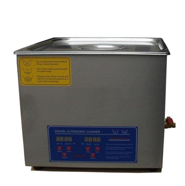 画像1: 【デジタル式 19L/28kHz 超音波洗浄機】 タイマー/ヒーター/中型洗浄器クリーナー 業務用 (1)