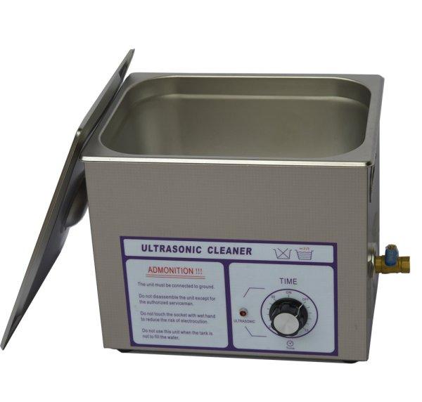 画像1: 【ダイヤル式 10L/120kHz 超音波洗浄機】 タイマー/中型洗浄器クリーナー 業務用 (1)