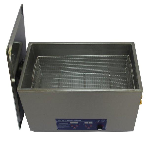 画像1: 【デジタル式 30L/120kHz 超音波洗浄機】 タイマー/ヒーター/ パワー調節/大型洗浄器クリーナー 業務用 (1)