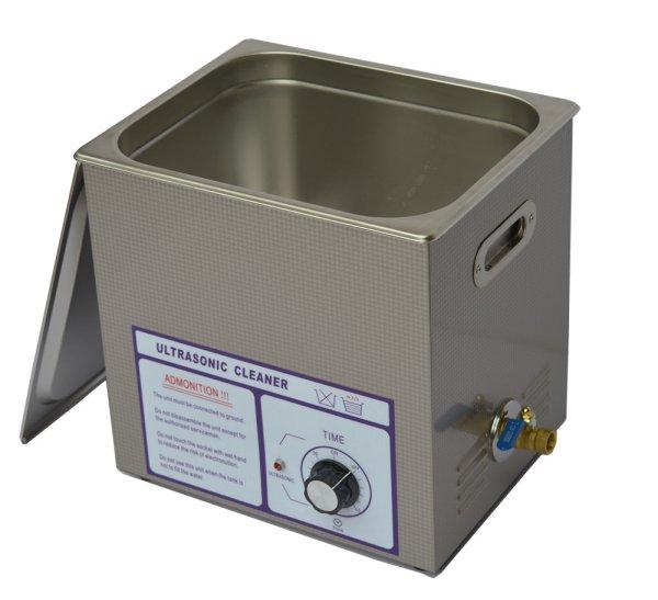 画像1: 【ダイヤル式 14L/80kHz 超音波洗浄機】 タイマー/中型洗浄器クリーナー 業務用 (1)