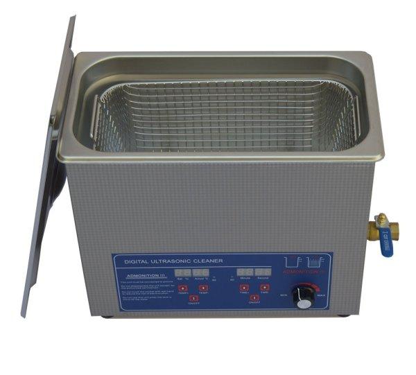 画像1: 【デジタル式 6L/80kHz 超音波洗浄機】 タイマー/ヒーター/ パワー調節/小型洗浄器クリーナー 業務用 (1)