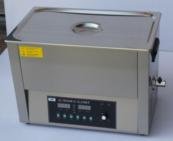 画像1: 【スマートデジタル式 30L/40kHz 超音波洗浄機】タイマー/ヒーター/ パワー調節/DEGAS/スイープ機能/大型洗浄器クリーナー 業務用 (1)