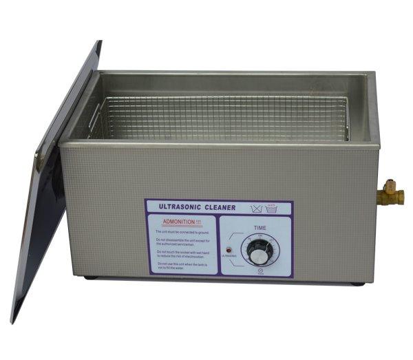 画像1: 【ダイヤル式 22L/40kHz 超音波洗浄機】 タイマー/中型洗浄器クリーナー 業務用 (1)
