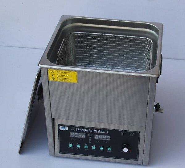 画像1: 【スマートデジタル式 19L/28kHz 超音波洗浄機】 タイマー/ヒーター/ パワー調節/DEGAS/スイープ機能/中型洗浄器クリーナー 業務用 (1)