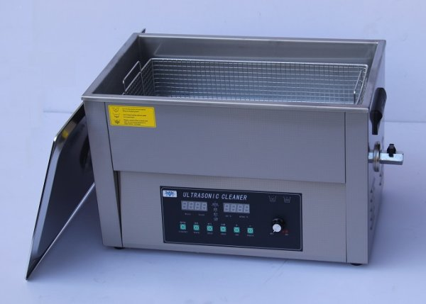 画像1: 【スマートデジタル式 22L/80kHz 超音波洗浄機】タイマー/ヒーター/ パワー調節/DEGAS/スイープ機能/中型洗浄器クリーナー 業務用 (1)