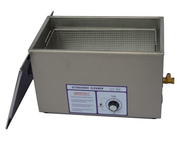 画像1: 【ダイヤル式 30L/80kHz 超音波洗浄機】 タイマー/大型洗浄器クリーナー 業務用 (1)