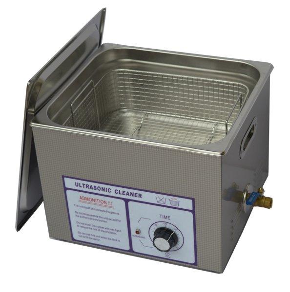 画像1: 【ダイヤル式 15L/120kHz 超音波洗浄機】 タイマー/中型洗浄器クリーナー 業務用 (1)