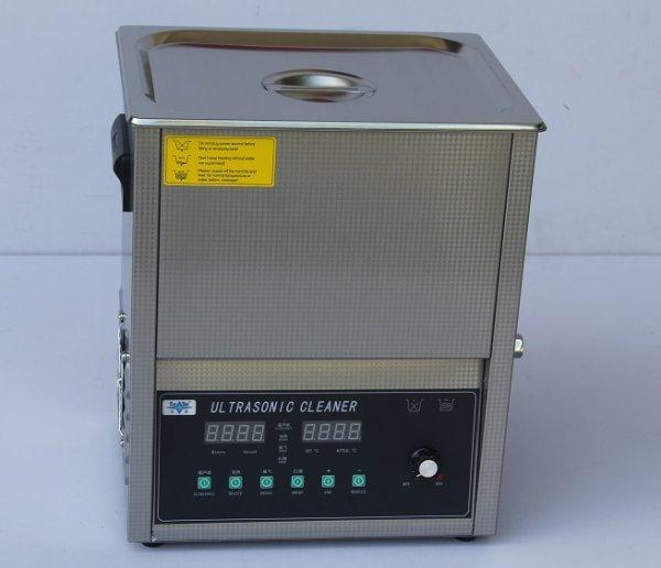 画像1: 【スマートデジタル式 14L/40kHz 超音波洗浄機】 タイマー/ヒーター/ パワー調節/DEGAS/スイープ機能/中型洗浄器クリーナー 業務用 (1)