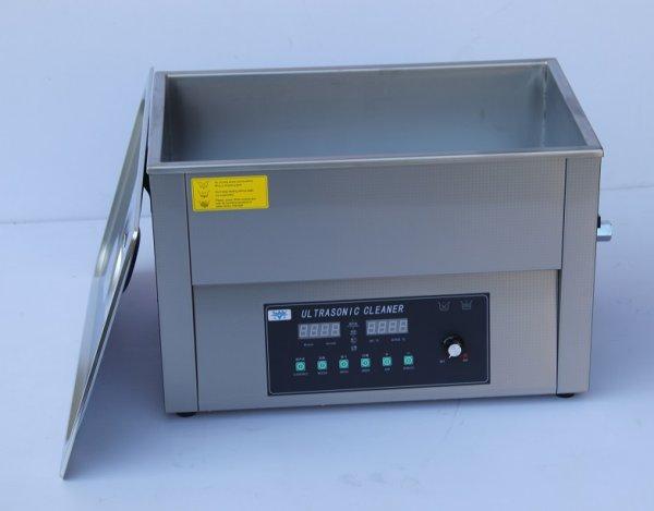 画像1: 【スマートデジタル式 15L/40kHz 超音波洗浄機】 タイマー/ヒーター/ パワー調節/DEGAS/スイープ機能/中型洗浄器クリーナー 業務用 (1)