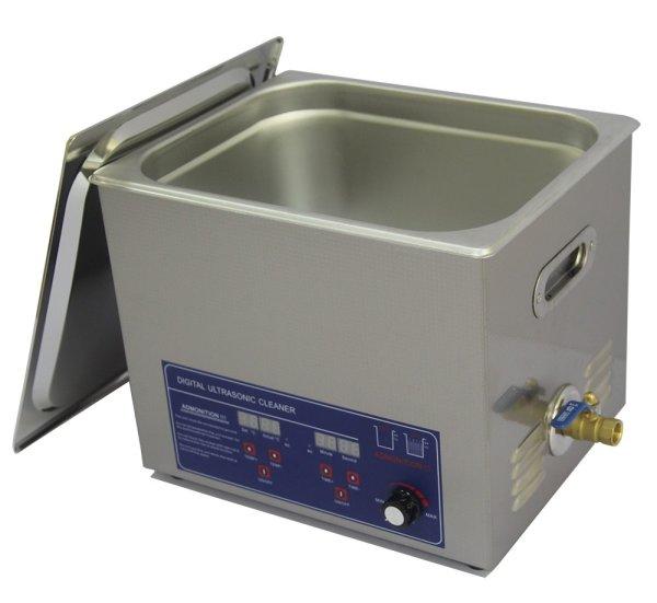 画像1: 【デジタル式 10L/120kHz 超音波洗浄機】 タイマー/ヒーター/ パワー調節/連続使用/中型洗浄器クリーナー 工業用 (1)