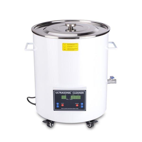 画像1: 【樽型 15L/40kHz 超音波洗浄機】 タイマー/ヒーター/中型洗浄器クリーナー 業務用 (1)