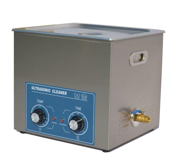 画像1: 【ダイヤル式 19L/40kHz 超音波洗浄機】 タイマー/ ヒーター/中型洗浄器クリーナー 業務用 (1)