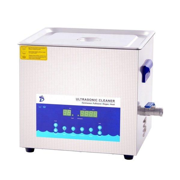 画像1: 【デュアル周波数 15L/28khz-40kHz 超音波洗浄機】 タイマー/ヒーター/DEGAS/小型洗浄器クリーナー 業務用 (1)