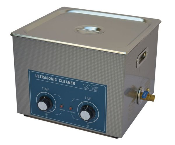 画像1: 【ダイヤル式 15L/120kHz 超音波洗浄機】 タイマー/ ヒーター/中型洗浄器クリーナー 業務用 (1)