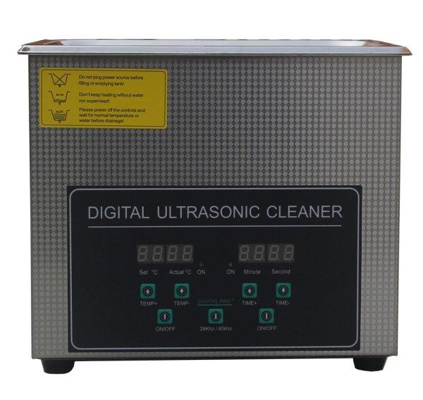 画像1: 【デュアル周波数 3L/28khz/40kHz 超音波洗浄機】 タイマー/ヒーター/小型洗浄器クリーナー 業務用 (1)