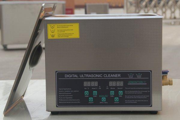 画像1: 【デュアル周波数 10L/28khz/40kHz 超音波洗浄機】 タイマー/ヒーター/小型洗浄器クリーナー 業務用 (1)