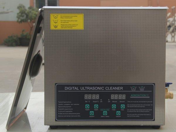 画像1: 【デュアル周波数 14L/28khz/40kHz 超音波洗浄機】 タイマー/ヒーター/中型洗浄器クリーナー 業務用 (1)